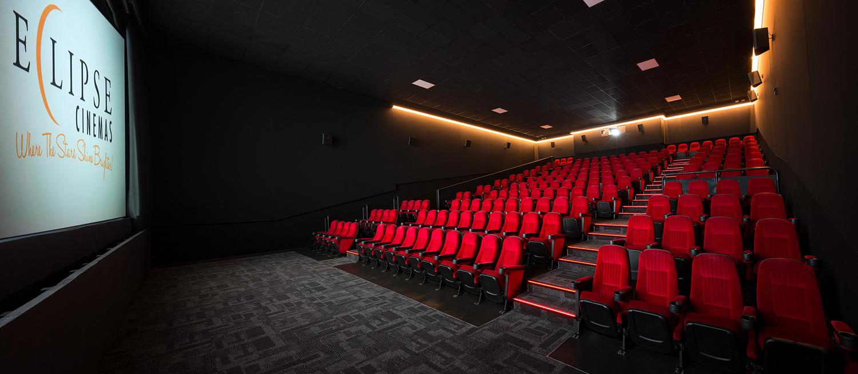 Movie theatre construction